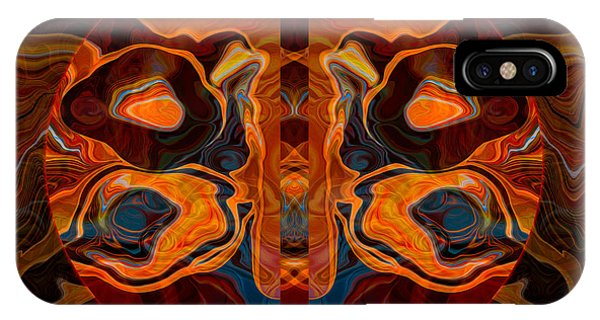 Deities Abstract Digital Artwork IPhone Case