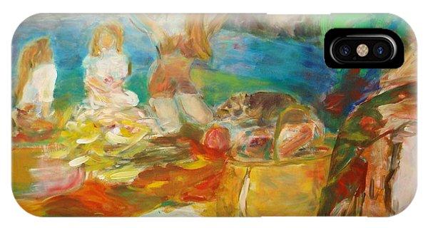 iPhone Case - Dejeuner Sur L'herb by Fereshteh Stoecklein