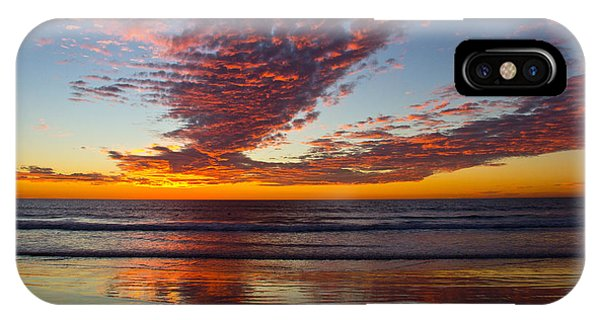 Del Mar Sunset 14 IPhone Case