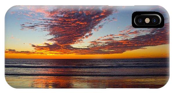 Del Mar Sunset 14 IPhone Case
