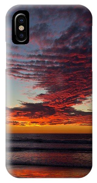 Del Mar Sunset 16 IPhone Case
