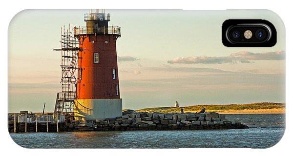 Delaware Breakwater Light IPhone Case