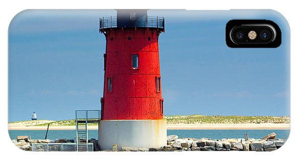 Delaware Breakwater Lighthouse IPhone Case