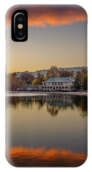 Delaware Park Marcy Casino Autumn Sunrise IPhone Case