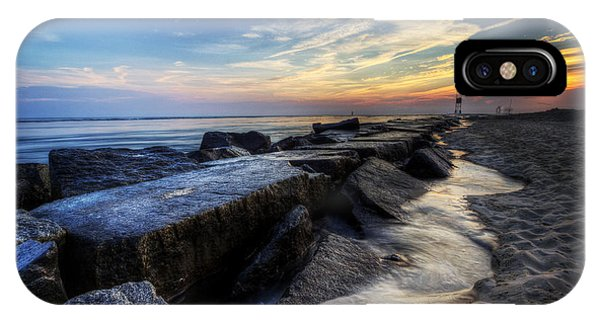 Delaware Sunrise At Indian River Inlet IPhone Case