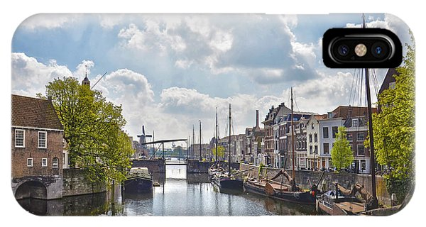 Delfshaven Rotterdam IPhone Case