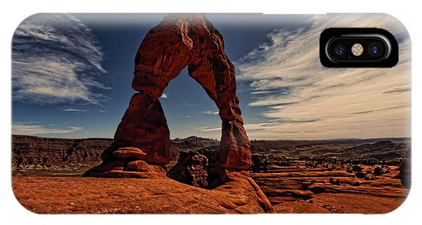 Delicate Arch Afternoon Glow IPhone Case