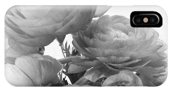 Delicate Ranunculus IPhone Case