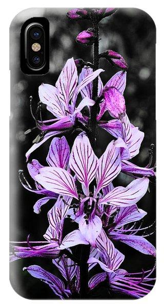 Delicate Violet IPhone Case