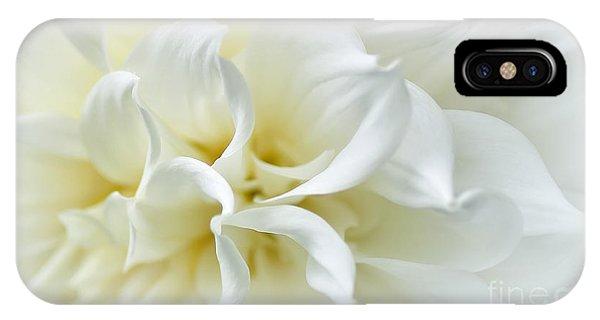 Delicate White Softness IPhone Case