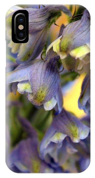 Delphinium Blue IPhone Case
