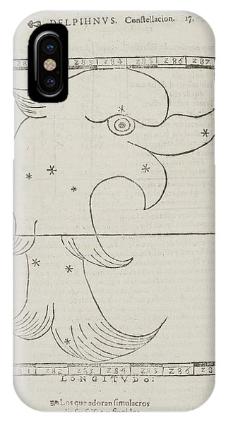Constellations iPhone Case - Delphinus Star Constellation by British Library