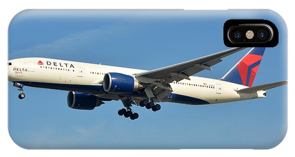 Delta Boeing 777-232lr N701dn Klax January 19 2015 IPhone Case