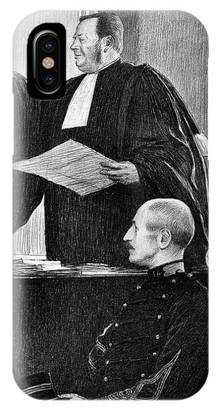 Controversial iPhone Case - Demange And Dreyfus In Court by Collection Abecasis