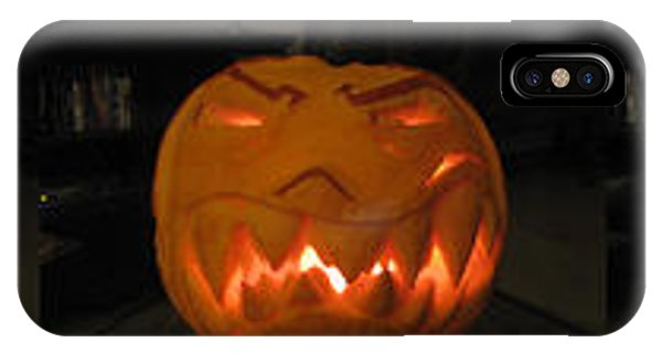 Demented Mister Ullman Pumpkin 2 IPhone Case
