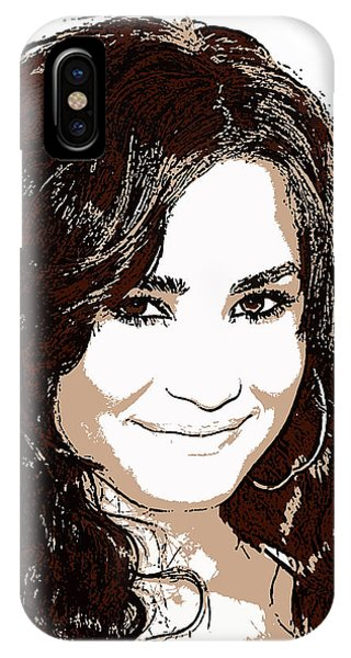 Demi Lovato 2 Phone Case by John Novis
