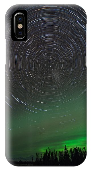 Denali Aurora Whirl IPhone Case