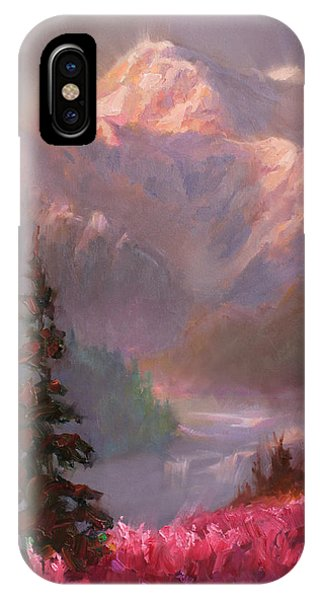 Denali Summer - Alaskan Mountains In Summer IPhone Case