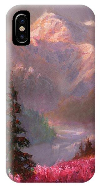 Denali Summer - Alaskan Mountains In Summer IPhone Case