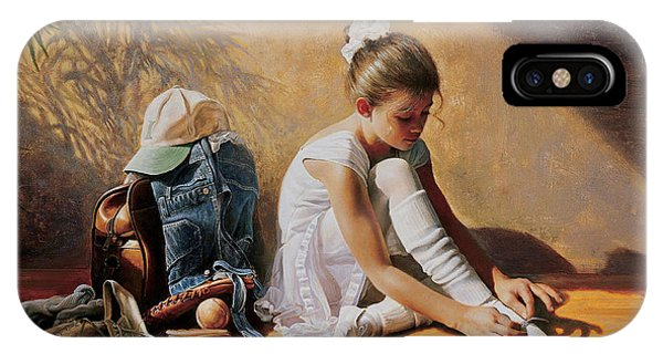 iPhone Case - Denim To Lace by Greg Olsen
