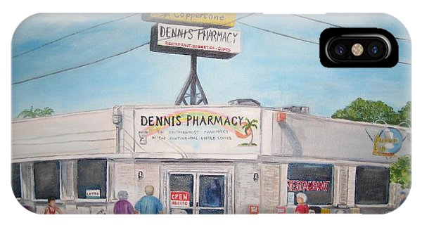 Dennis Pharmacy - No More Refills IPhone Case