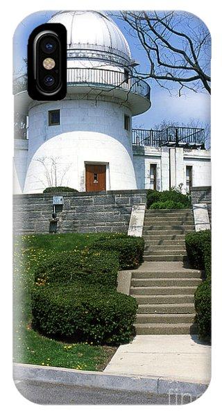 1u22 Swasey Observatory At Denison University Photo IPhone Case