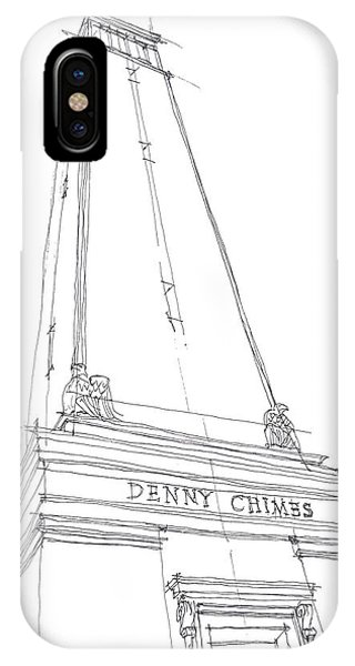 Denny Chimes Sketch IPhone Case