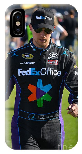 Denny Hamlin IPhone Case
