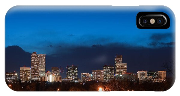 Denver At Twilight  IPhone Case