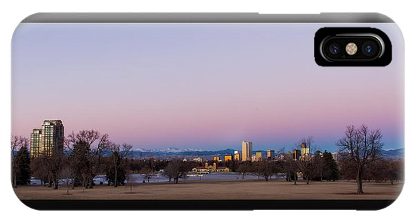 Denver Colorado Sunrise IPhone Case