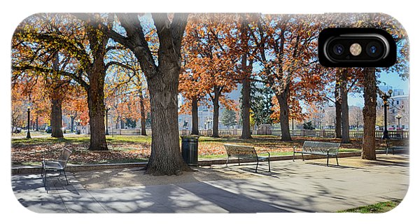 Denver Park In November IPhone Case