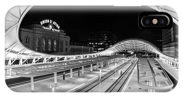Denver's Union Station IPhone Case