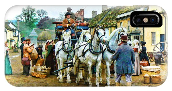 Departing Cranford IPhone Case