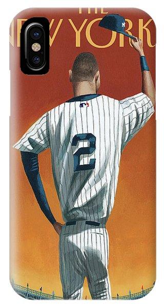 Derek Jeter Bows Out IPhone X Case