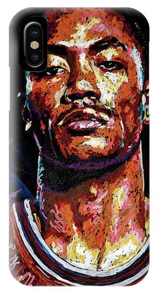 Derrick Rose-2 IPhone Case