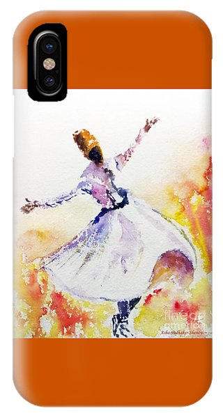 Sufi  Or Dervish Dancer IPhone Case