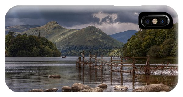 Derwent Water Towards Catsbells IPhone Case