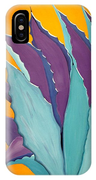 Desert Agave Cactus IPhone Case