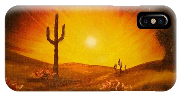 Desert Aglow IPhone Case