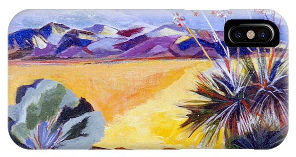Desert And Mountains IPhone Case