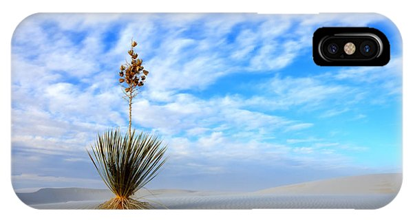 Desert Beauty White Sands New Mexico IPhone Case
