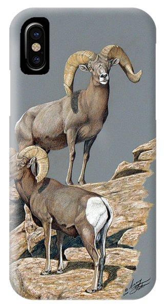 Desert Bighorn Rams IPhone Case