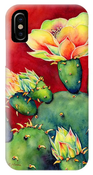 Bloom iPhone Case - Desert Bloom by Hailey E Herrera
