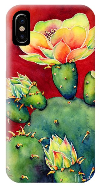 University iPhone Case - Desert Bloom by Hailey E Herrera