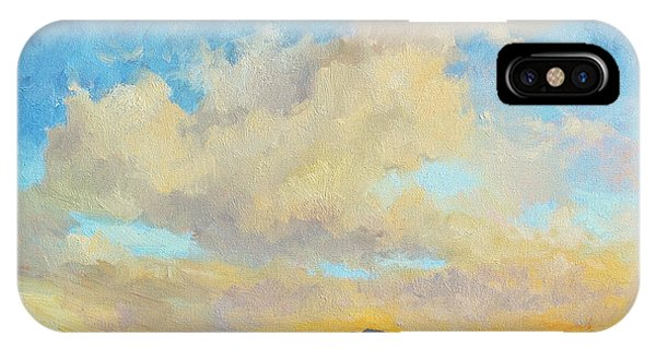Desert Clouds IPhone Case