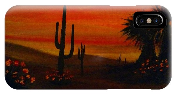 Desert Dance IPhone Case