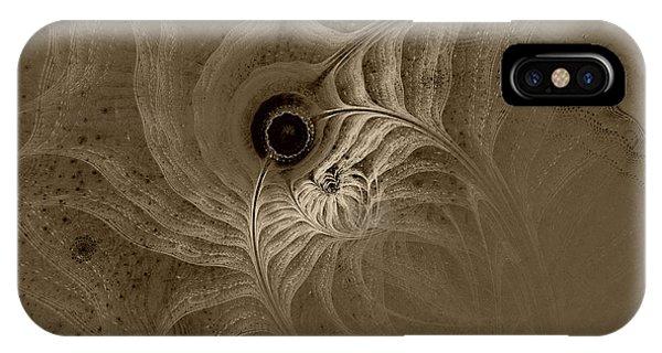Desert Etching IPhone Case