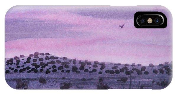Desert Evening IPhone Case