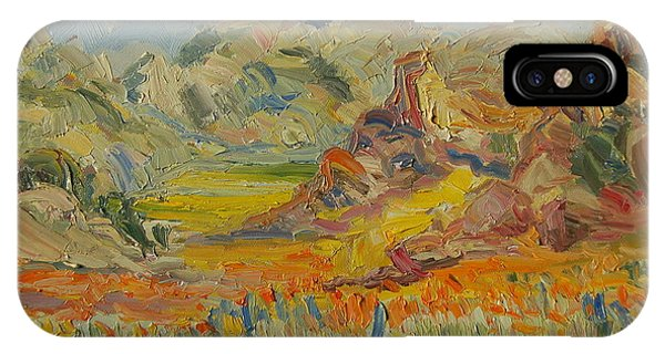 Desert Flowers IPhone Case