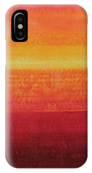 Desert Horizon Original Painting IPhone Case